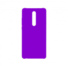 Силиконовый чехол Silky and Soft-Touch Xiaomi Mi 9T (Purple)