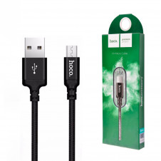 Кабель HOCO X14 Times Speed Micro - USB (L=1M) Black