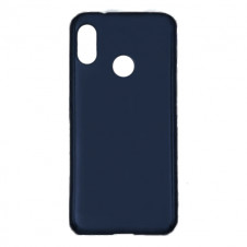 Силиконовый чехол Silky and Soft-Touch для Redmi Note 7 (Dark Blue)