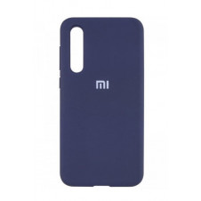 Силиконовый чехол Silky and Soft-Touch Xiaomi Mi A3 (Dark Blue)
