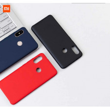 Силиконовый чехол Silky and Soft - Touch Xiaomi Redmi 6 (Dark Blue )