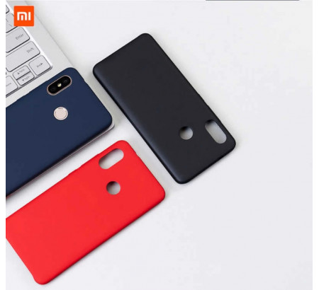 Силиконовый чехол Silky and Soft - Touch Xiaomi Redmi 6 (Red)