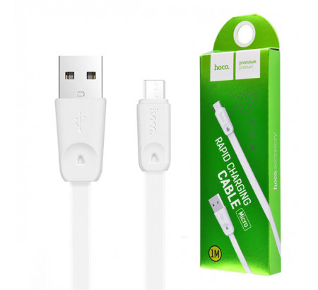 Кабель HOCO X9 High Speed Micro USB (L=1M), White